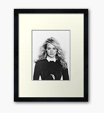 Yvonne strahovski Framed Print