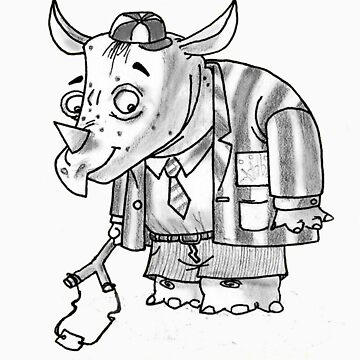 rhino. by shaunn