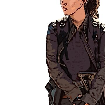 """The Walking Dead - Rosita """"Something worth dying for"""" by PopClothing"""