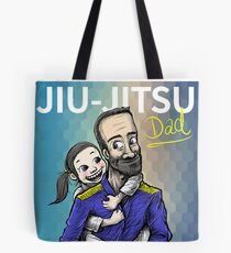 Jiu-Jitsu Dad Tote Bag