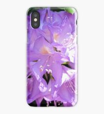 Lavender Rhododendron iPhone Case/Skin