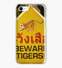 « It's a Tiger! » iPhone Case/Skin