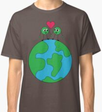 Peas on Earth Classic T-Shirt