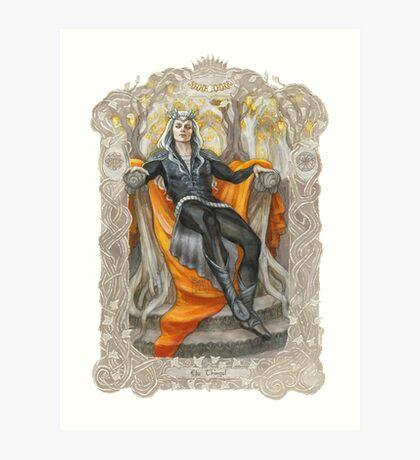 King of the Grey Elves Art Print