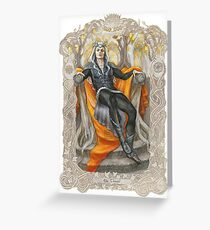 King of the Grey Elves Greeting Card