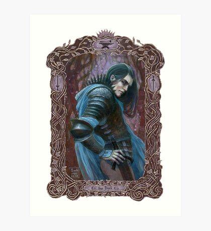 The Dark Elf Art Print