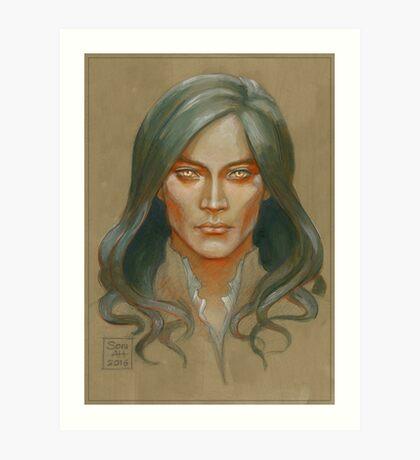 Fëanor colour study Art Print