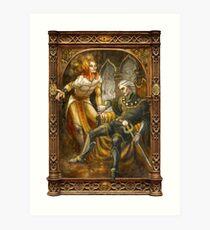Sauron and Ar-Pharazôn Art Print