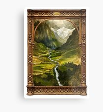 The Ring is taken to Rivendell Metal Print