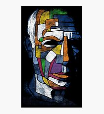 Picasso face Photographic Print