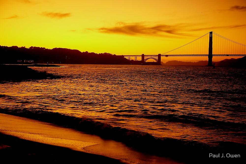 Golden Gate by Paul J. Owen