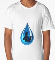 mudkip dropkip Long T-Shirt