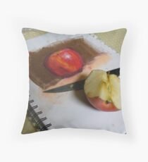 Hungry Artist Throw Pillow