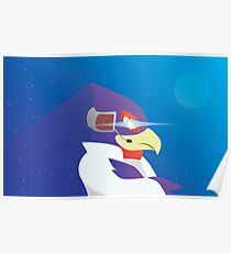 Falco Lombardi Poster
