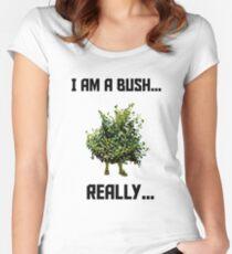 Fortnite Bush Women's Fitted Scoop T-Shirt