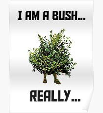 Fortnite Bush Poster