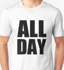 All Day - Kanye West (black) T-Shirt