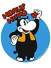 Horus Hippo Greeting by Stayf