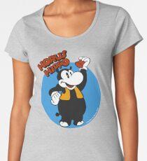 Horus Hippo Greeting Premium Scoop T-Shirt