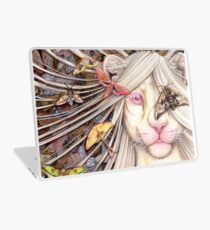 just another butterfly - white lioness furry /anthro Laptop Skin