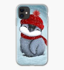 Baby penguin iPhone Case