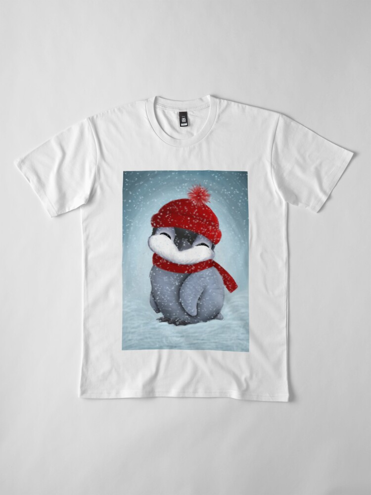 Alternative Ansicht von Baby-Pinguin Premium T-Shirt
