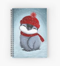 Baby penguin Spiral Notebook