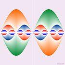 Sinusoidal Symmetry by Christopher Hanusa