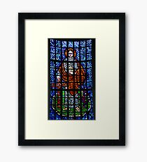 St Philip: Stained Glass Window Framed Print