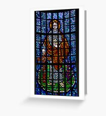 St Philip: Stained Glass Window Greeting Card
