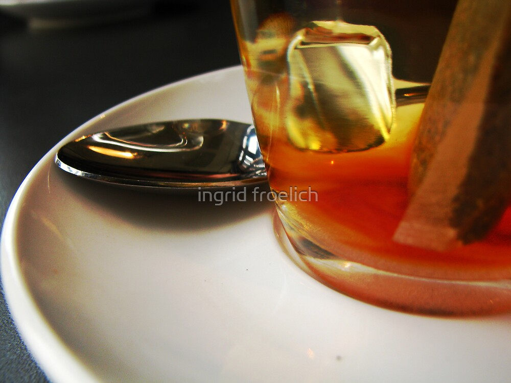 hot tea comfort by ingrid froelich