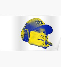 Jim Harbaugh Poster