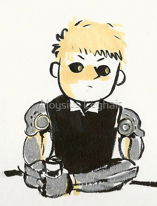 Genos sticker by shelby legere