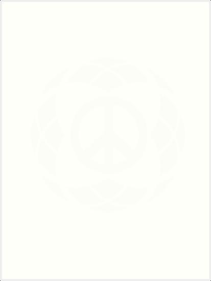 Láminas artísticas «camisetas con logo de paz y cuadros» de ...
