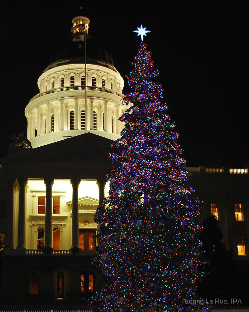 Christmas 2008, California State Capitol, Sacramento by Lenny La Rue, IPA