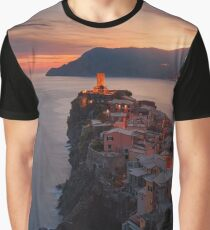 On the edge of Italy Graphic T-Shirt
