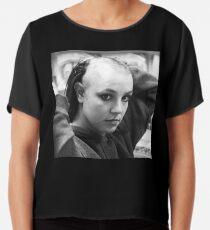 Bald Britney Chiffon Top