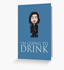 Athos (season 3) Greeting Card