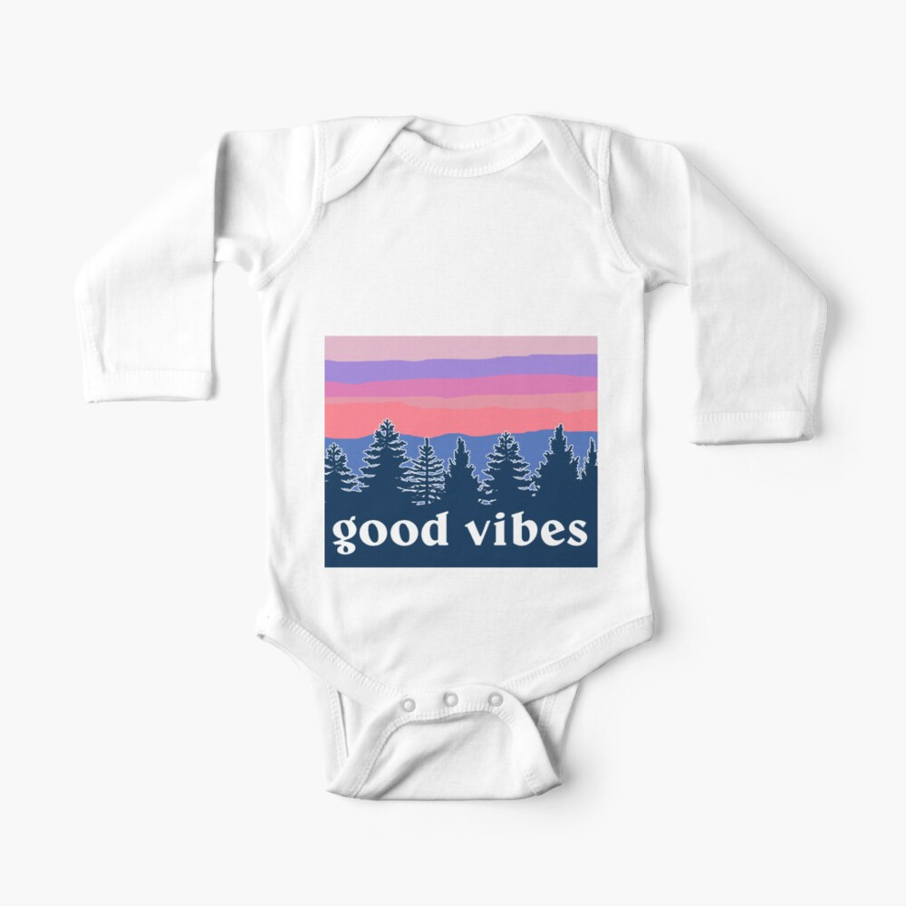 Good Vibes Baby One-Piece