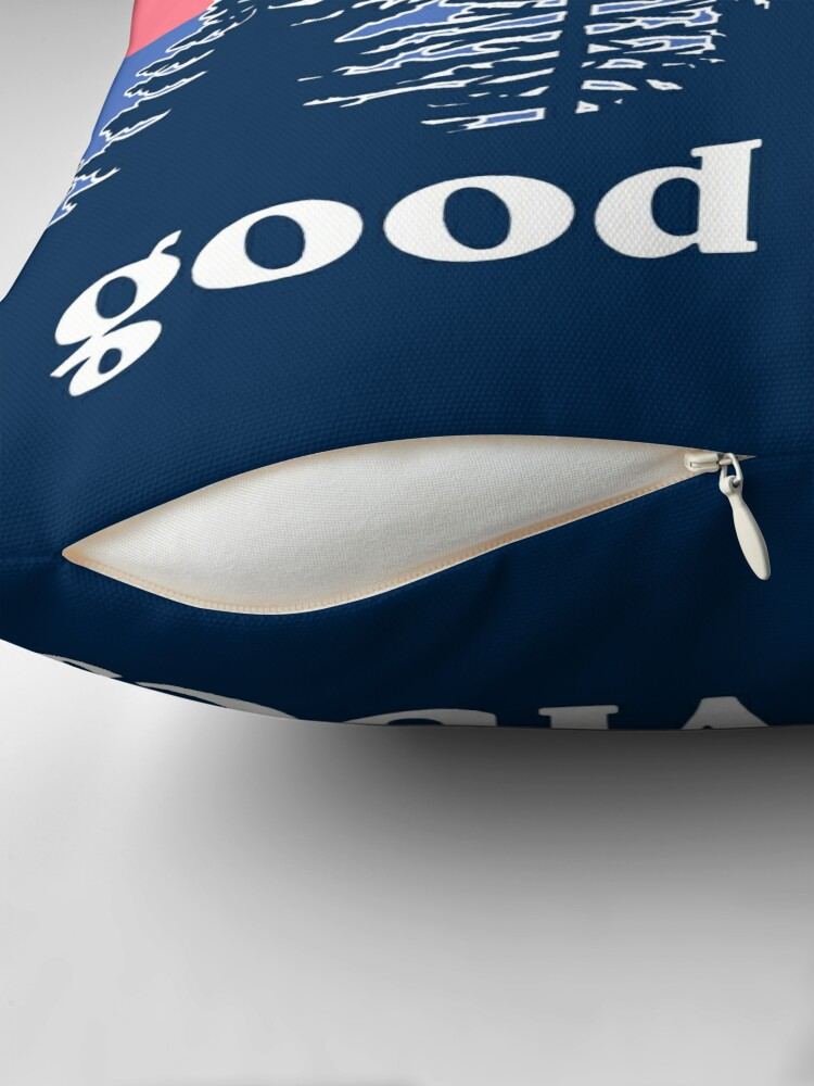 Alternate view of Good Vibes Throw Pillow