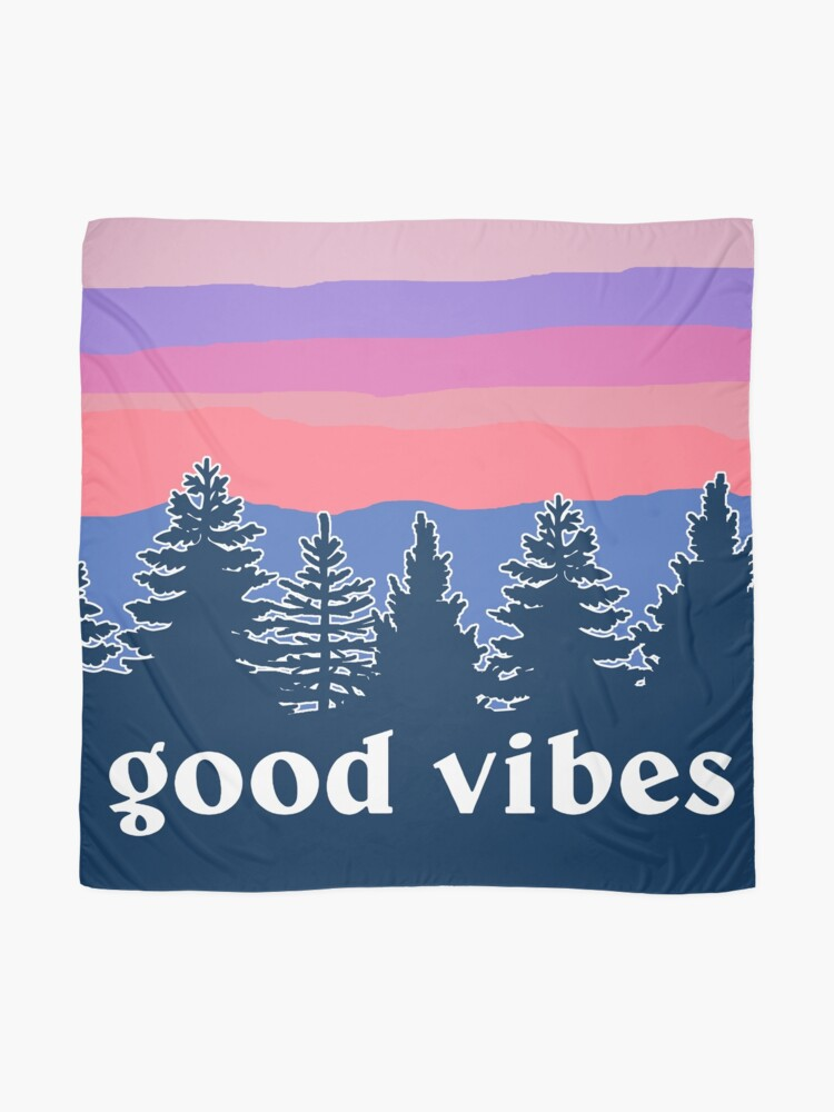 Alternate view of Good Vibes Scarf