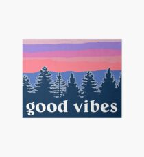 Good Vibes Art Board Print