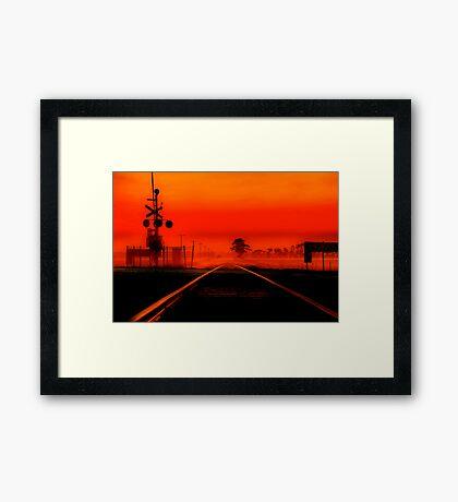 """""""Life's Line"""" Framed Print"""