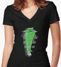 I See Stars Women's Fitted V-Neck T-Shirt