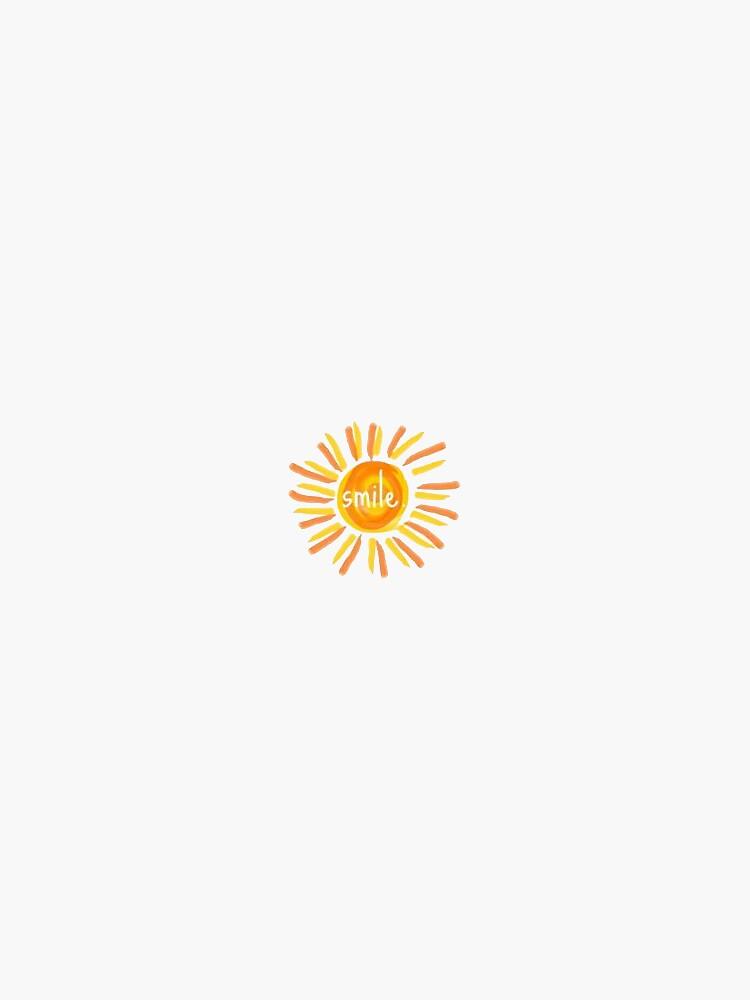 Lächeln Sonnenschein von stickersnstuff