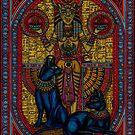 bastet, bast the cat goddess by CherrieB