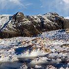 Pike O Stickle from the path to Bowfell in the English Lake District by Martin Lawrence