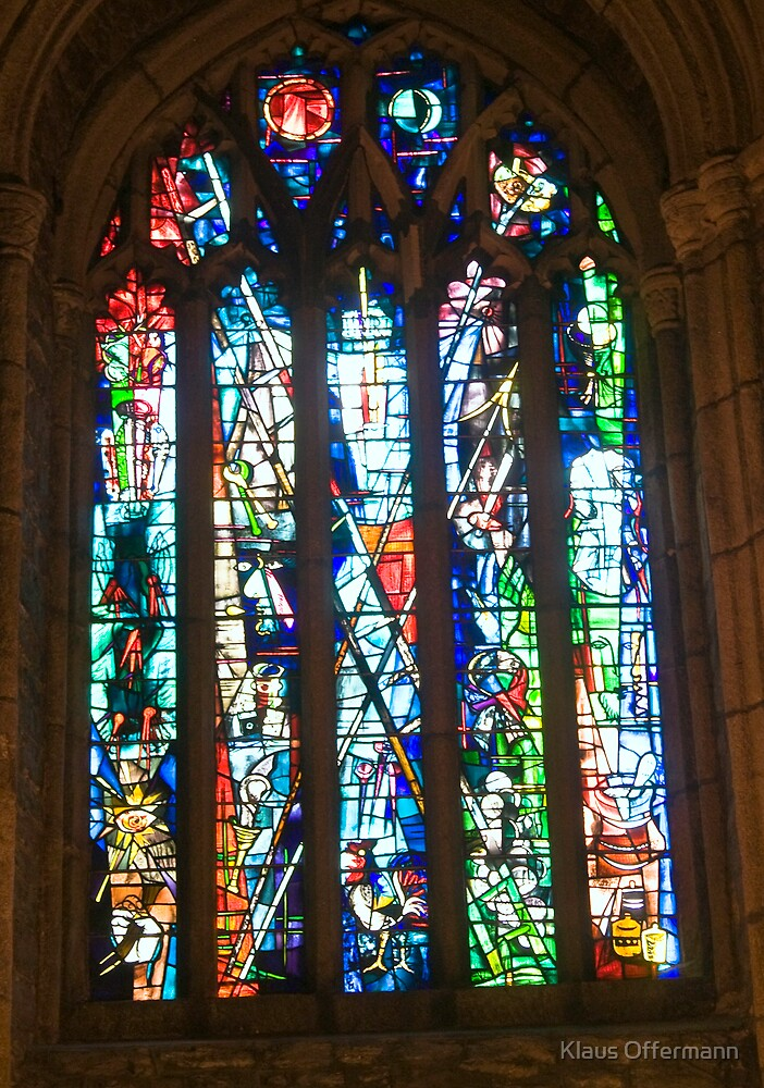 Window of  St. Andrew in Plymouth by Klaus Offermann