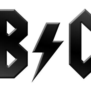 AB/CD (black on white) by haberdasher92