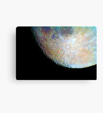 lunar south region Canvas Print